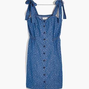 🎉3 x Host Pick Madewell Tie Strap Star Sun Dress